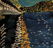 Night Bridge by Evelyn Bach