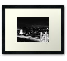 N City Framed Print