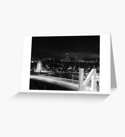 N City Greeting Card