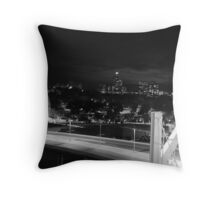 N City Throw Pillow