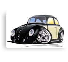 VW Beetle (Custom C) Metal Print