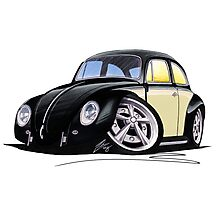 VW Beetle (Custom C) Photographic Print