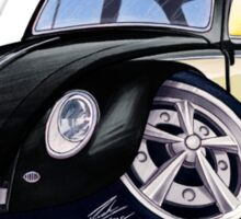VW Beetle (Custom C) Sticker
