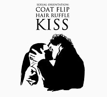 Sherlock and Molly Kiss T-Shirt