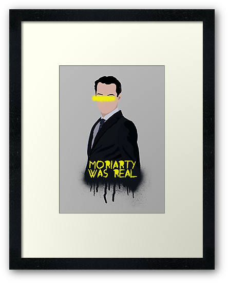 Moriarty Was Real by saniday