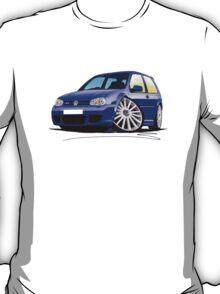 VW Golf (Mk4) R32 Blue T-Shirt