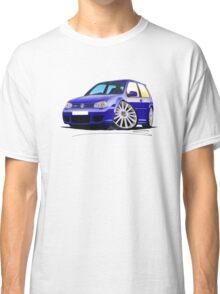 VW Golf (Mk4) R32 Blue Classic T-Shirt