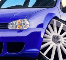 VW Golf (Mk4) R32 Blue Sticker