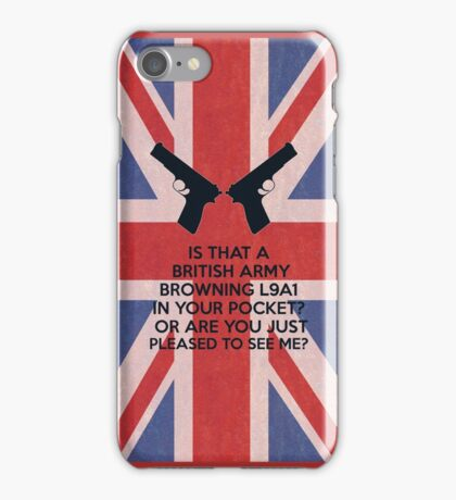 Or are you just pleased to see me? iPhone Case/Skin