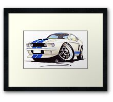 Shelby Mustang GT500 (60s) Framed Print