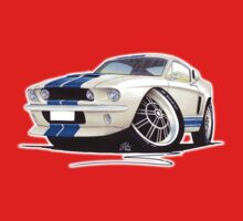 Shelby Mustang GT500 (60s) One Piece - Long Sleeve