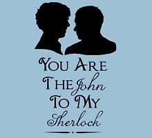 The John To My Sherlock Womens Fitted T-Shirt