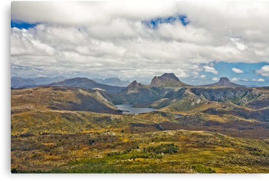 Cradle Mountain from the Air 1 by Neil