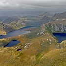 Cradle Mountain from the air 3 by Neil