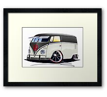 VW Splitty Panel Van (RB) Framed Print
