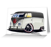VW Splitty Panel Van (RB) Greeting Card