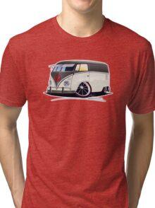 VW Splitty Panel Van (RB) Tri-blend T-Shirt