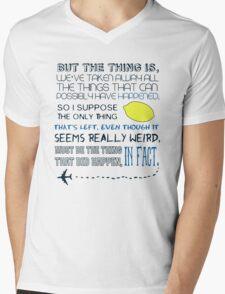Martin Crieff Quote Mens V-Neck T-Shirt