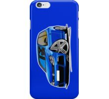 VW Golf R Blue iPhone Case/Skin