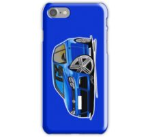 VW Golf R Blue iPhone Case/Skin