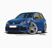 VW Golf R Blue by Richard Yeomans