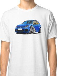 VW Golf R Blue Classic T-Shirt