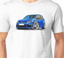 VW Golf R Blue Unisex T-Shirt