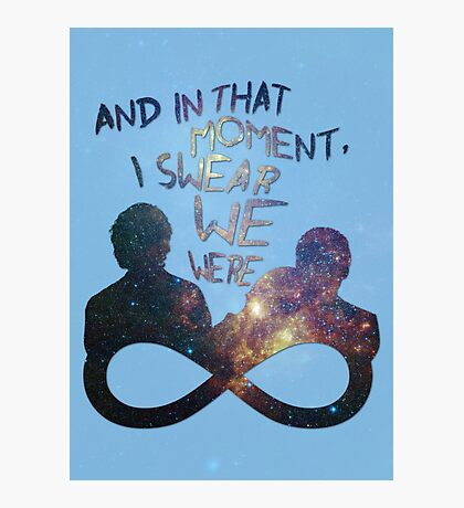 I Swear We Were Infinite II Photographic Print