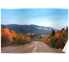Newfoundland Autumn Poster