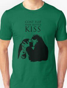 Sherlock and Molly Kiss II Unisex T-Shirt