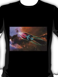 A Cruiser Interceptor on Patrol at the Fairy of Eagle Nebula T-Shirt