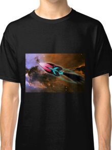 A Cruiser Interceptor on Patrol at the Fairy of Eagle Nebula Classic T-Shirt
