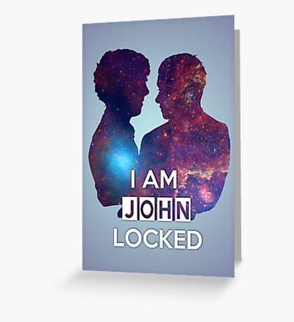Johnlocked Greeting Card