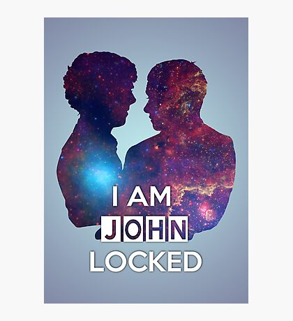 Johnlocked Photographic Print