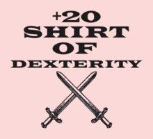 +20 Shirt of Dexterity One Piece - Long Sleeve