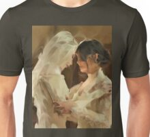 Stahma and Christie before the Wedding Unisex T-Shirt