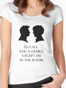 I'd Call You A Genius Women's Fitted Scoop T-Shirt
