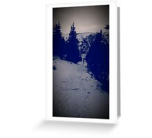 Cold winter Greeting Card