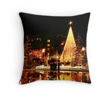 Temple Square Throw Pillow