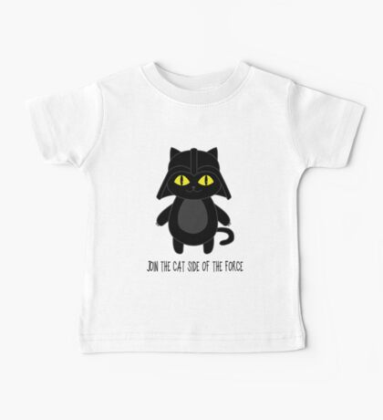 Cat Vader Baby Tee