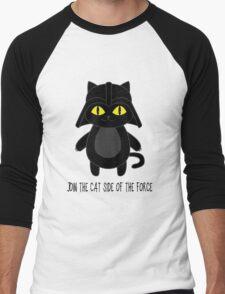 Cat Vader Men's Baseball ¾ T-Shirt