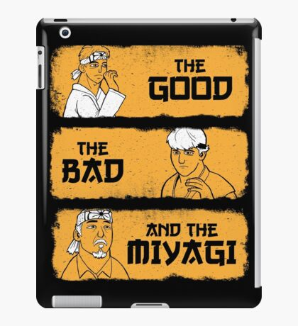 The Good, The Bad, And The Miyagi iPad Case/Skin
