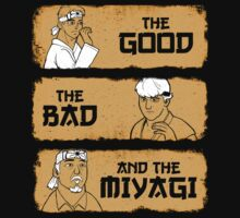 The Good, The Bad, And The Miyagi by Matt Sinor