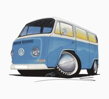 VW Bay (Early) Light Blue Kids Clothes