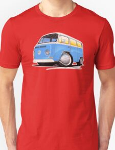 VW Bay (Early) Light Blue T-Shirt