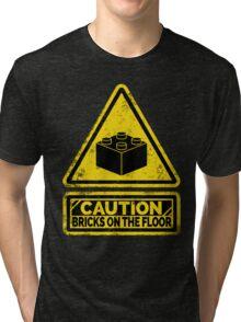 Watch Your Steps Tri-blend T-Shirt