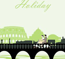 Roman Holiday poster and t-shirts by icedtees
