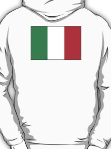 Italian Flag, The Flag of Italy, Bandiera d'Italia, pure & simple T-Shirt