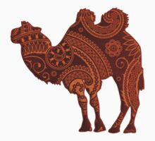 Camel Silhouette Paisley Kids Clothes