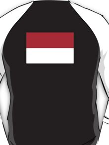 Indonesian Flag, Flag of the Republic of Indonesia, Jakarta T-Shirt